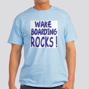 Wake Boarding Rocks ! Light T-Shirt