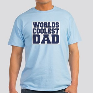 Worlds Coolest Dad Light T-Shirt