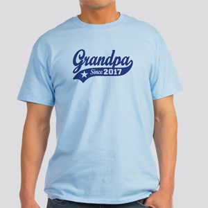 Grandpa Since 2017 Light T-Shirt