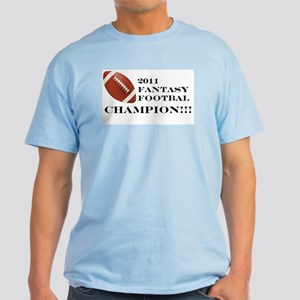 2011 Fantasy Football Champion T-Shirt