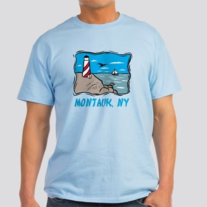 Montauk, NY Light T-Shirt