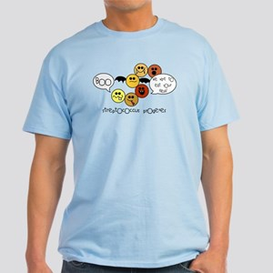 Fleshing Eating Bacteria at Hallowee Light T-Shirt