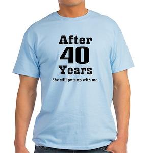 8f46be0b8 Wedding Anniversary T-Shirts - CafePress