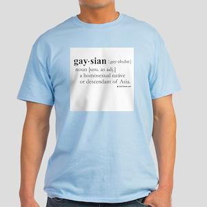 Gaysian definition Light T-Shirt