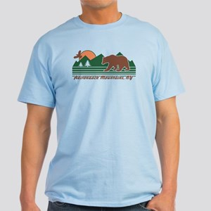 Adirondack Mountains NY Light T-Shirt