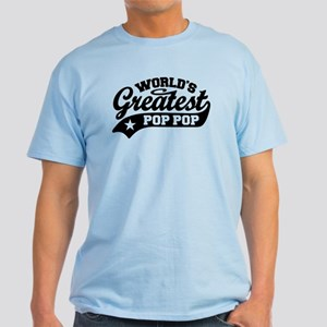 World's Greatest Pop Pop Light T-Shirt