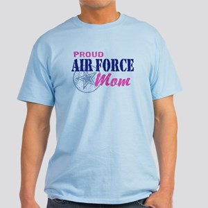 Proud Air Force Mom Light T-Shirt