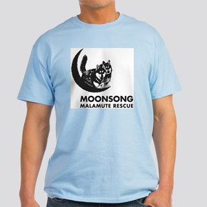 Moonsong Malamute Rescue Light T-Shirt