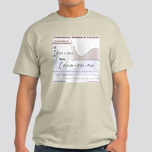 Fundamental Theorem of Calculus Light T-Shirt