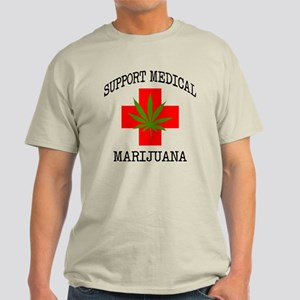 Support Medical Marijuana Light T-Shirt