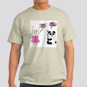 Panda Rabbi Engrish Light T-Shirt