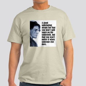 "Chekhov ""Upbringing"" Light T-Shirt"