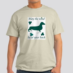 Dachsie and Shamrocks Light T-Shirt
