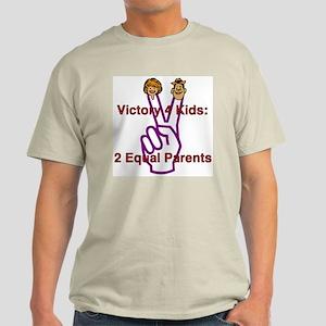 Victory 4 Kids Ash Grey T-Shirt