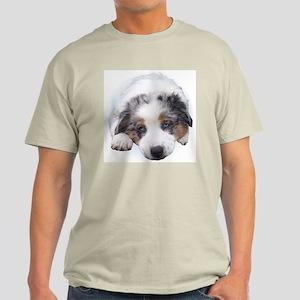 Blue Merle Pup Light T-Shirt