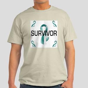 Ovarian Cancer Survivor 1.3 Light T-Shirt