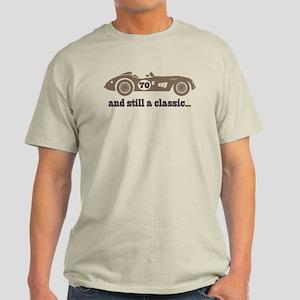 70th Birthday Classic Car Light T-Shirt