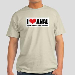 I Love Anal-yzing Light T-Shirt