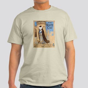 The White Cat Vintage Book Co Light T-Shirt