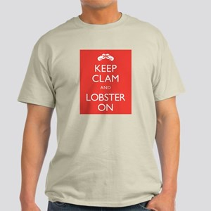Keep Clam and Lobster On T-Shirt