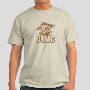 USMC Bulldog -- Light T-Shirt