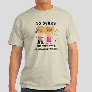 50th Anniversary Mens Fishing Light T-Shirt
