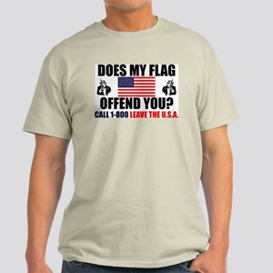 """""""Does My Flag Offend You?"""" Color Tee"""