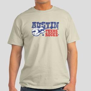 Austin Texas Rocks Light T-Shirt