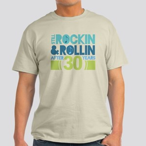 30th Anniversary Rock N Roll Light T-Shirt