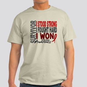 Survivor 4 Stroke Shirts and Gifts Light T-Shirt