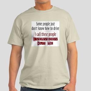 Bad Drivers (Red) Light T-Shirt
