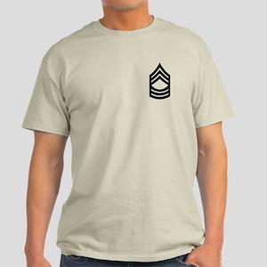 Master Sergeant Light T-Shirt 8
