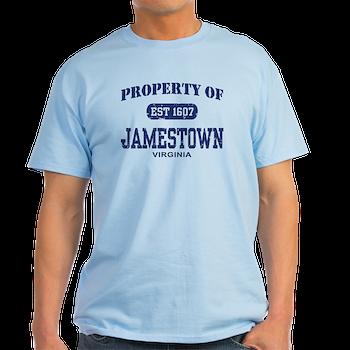 Property Of Jamestown TShirt Property Of Jamestown Tshirt Luck - Property of t shirt template