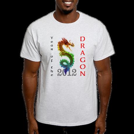 Year of the Dragon 2012 Light T-Shirt