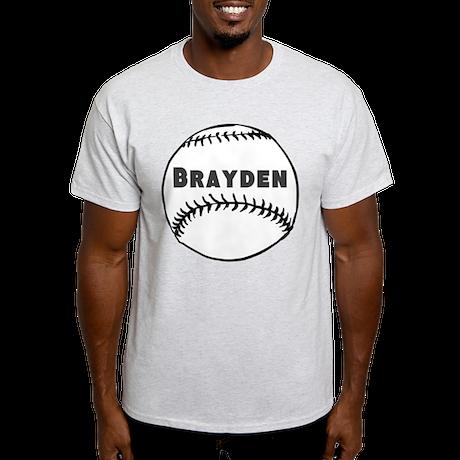 Personalized Baseball Light T-Shirt