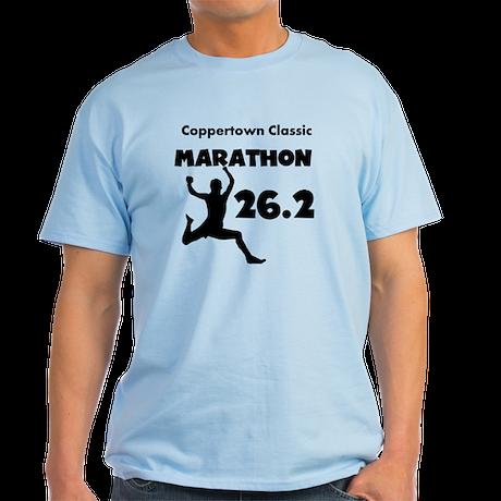 Black Custom Marathon Light T-Shirt