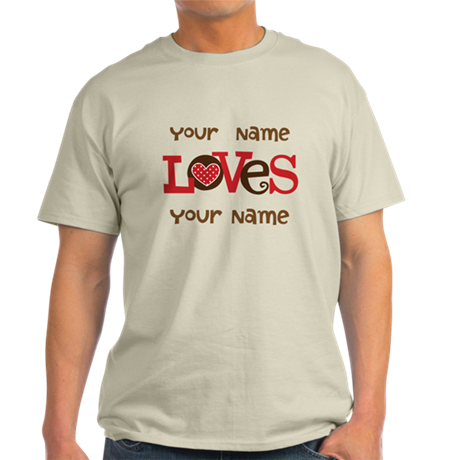 Personalized Love Light T-Shirt