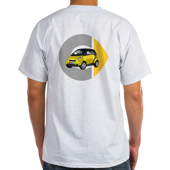 Big Smart Car Logo Yellow
