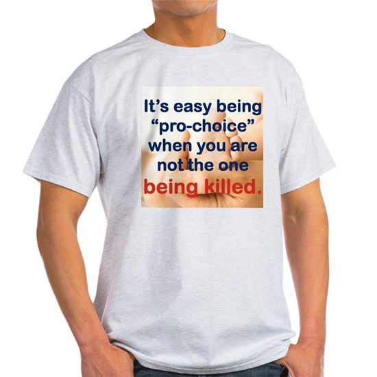 ITS EASY BEING PRO CHOICE