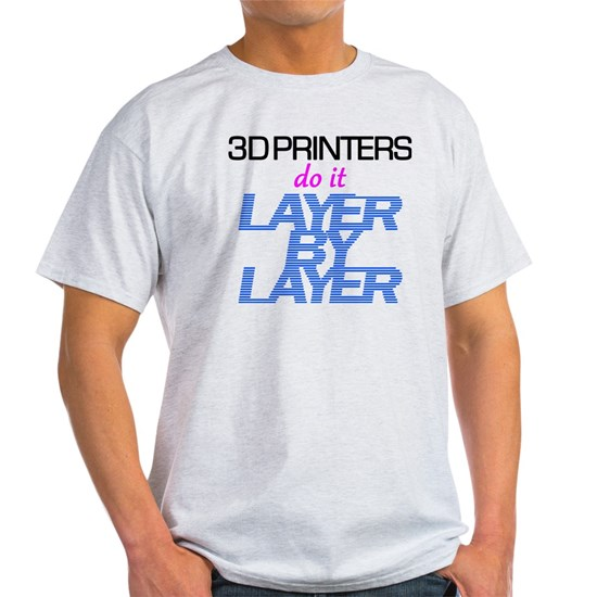 3D Printers do it layer by layer