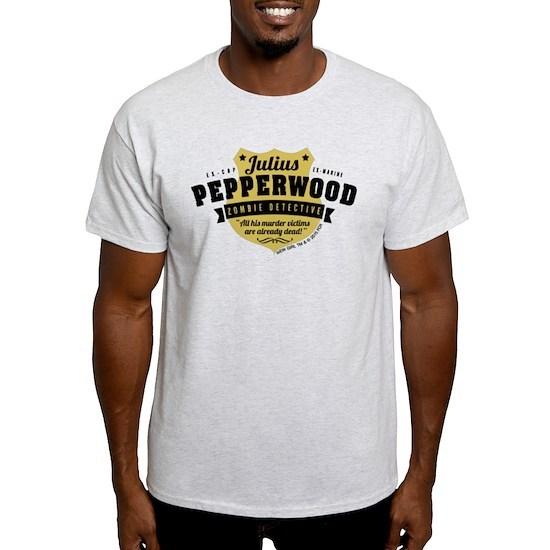 0cd41ff6f New Girl Julius Pepperwood Light T-Shirt by New Girl - CafePress