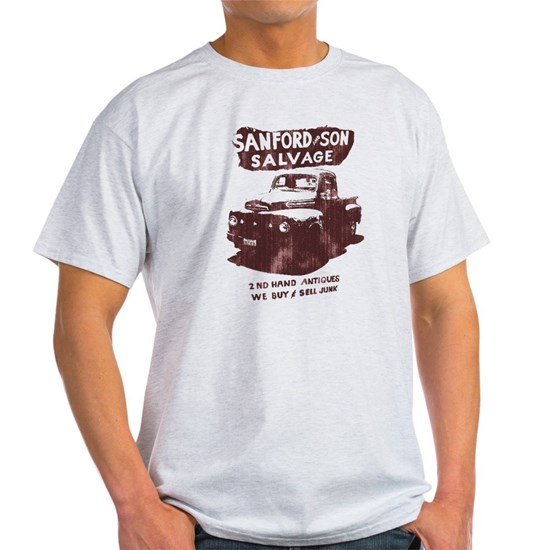 75f88b28 sanford and son Light T-Shirt SANFORD & SON SALVAGE Light T-Shirt by ...