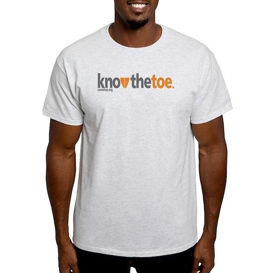 82d11c2f83dcd 3-KnowTheToe Light T-Shirt 3-KnowTheToe T-Shirt by Camel Toe Report ...
