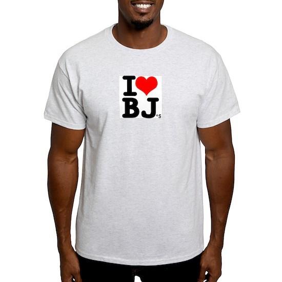 """SharpTee's """"I Love BJ's"""""""