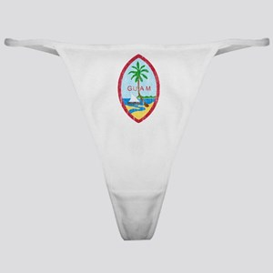 Guam Coat Of Arms Classic Thong