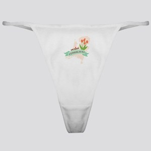Netherlands Amsterdam Capital Classic Thong