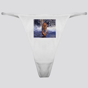 Tiger In Waterfall Classic Thong