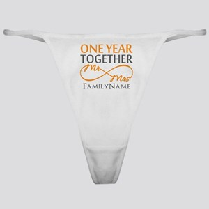 Gift For 1st Wedding Anniversary Classic Thong