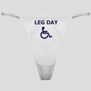 Leg Day Wheelchair Classic Thong