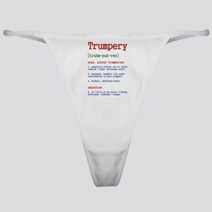 Trumpery Definition Classic Thong